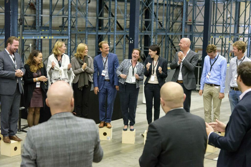 Deelnemers aan de workshop van Andre Heuvelman
