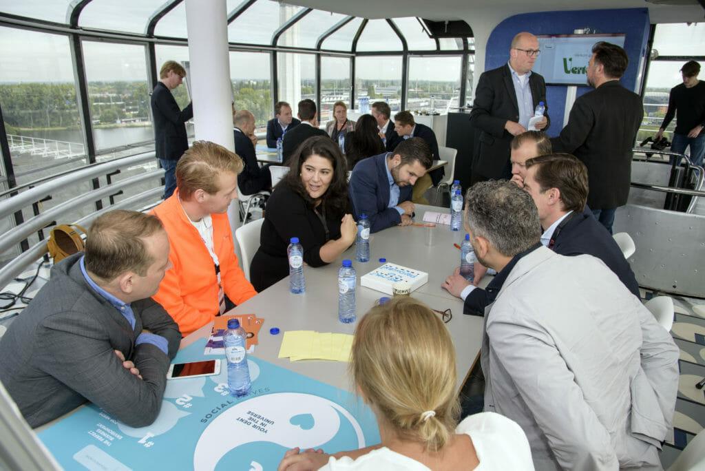 Deelnemers challenge provincie Zuid- Holland